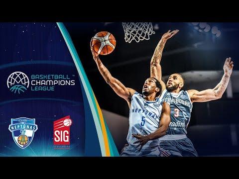 Neptunas Klaipeda v SIG Strasbourg - Full Game - Round of 16 - Basketball Champions League 2017-18