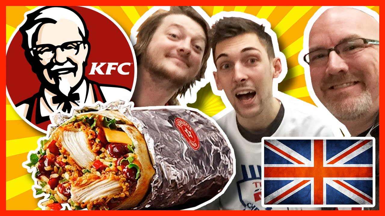 KFC Zinger Burrito & 3 Legend Box Meal w/ Paul & Matt from Where's My Challenge