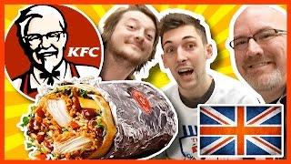 KFC Zinger Burrito &amp 3 Legend Box Meal w Paul &amp Matt from Where&#39s My Challenge