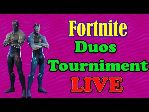 FORTNITE!!!! LETS EAT!!! PLAYING IN A DUO TOURNIMENT!!!!!
