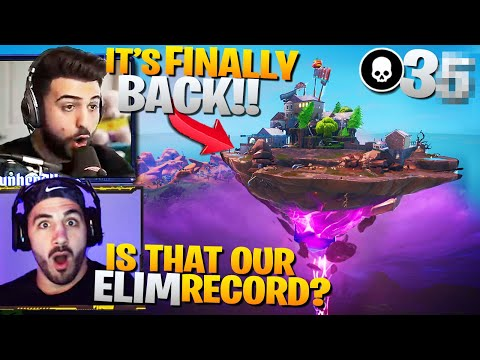 How To Drop High Elim Games At The FLOATING ISLAND! (Fortnite Battle Royale Gameplay)