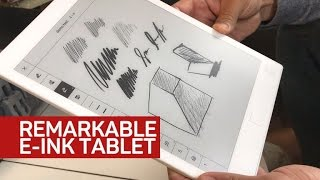 Your future e-ink tablet might double as a sketchpad