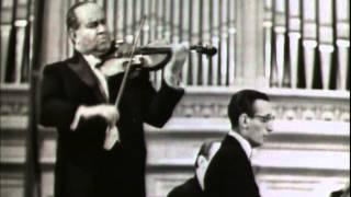 "David Oistrakh - Schubert Sonata ""Duo"" in A major, 2. Scherzo: Presto"