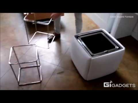 Muebles convertibles que se adaptan a tu casa youtube for Muebles convertibles