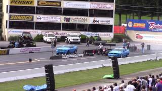 American Muscle Car Show 2014 - First drag race of the day