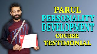 Parul Personality Development Course Testimonial at IELTS Learning