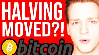 BITCOIN HALVING MOVED?!?!! 🛑 WHO Global Emergency - Programmer explains