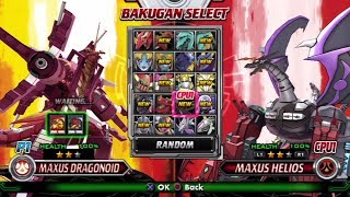 Bakugan: Defenders of the Core All Characters [PS3]
