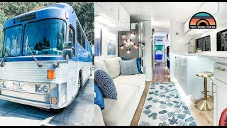 DIY Charter Bus Conversion  - Fulltime Tiny House For Family Of 5