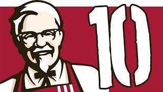10 smacznych faktów o KFC [TOPOWA DYCHA]