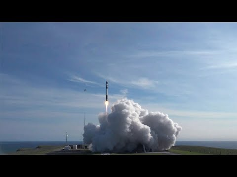 "Rocket Lab Electron ""It's Business Time"" Launch"