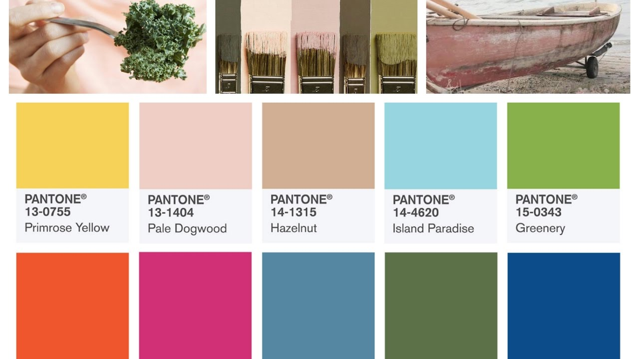 Pantone Color 2016 Summer 2017 Color Trends Top 10 Pantone Colors