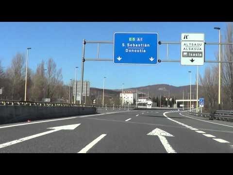 Autovia A-1/N-I Miranda de Ebro - San Sebastian