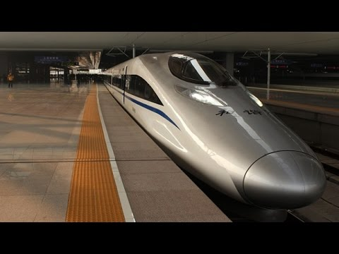 China completes world's longest bullet train network