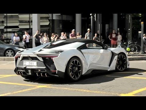 The DUBAI 780HP $1.9 Million FENYR SUPERSPORT on the road in London!