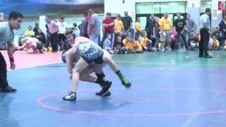 90lbs, Kaden Cassidy, PA Gold vs Caleb Haynes, NJ Scorpions