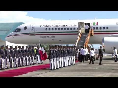 Arrival of President Enrique Peña Nieto, Republic of Mexico 11/17/2015