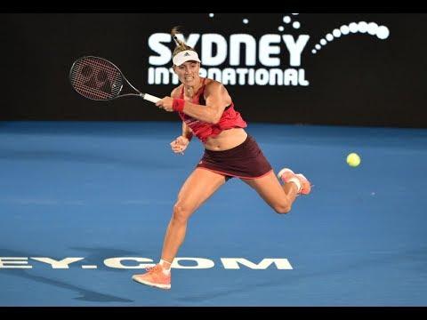 2018 Sydney International Second Round | Angelique Kerber vs Venus Williams | WTA Highlights