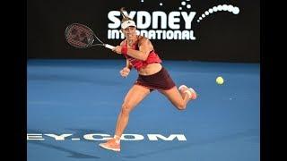 2018 Sydney International Second Round   Angelique Kerber vs Venus Williams   WTA Highlights