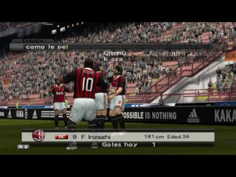 Pipo Inzaghi Best Goals PES6