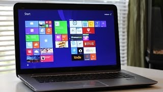 "HP ENVY TouchSmart M7-J120dx 17.3"" Touchscreen Laptop Review"