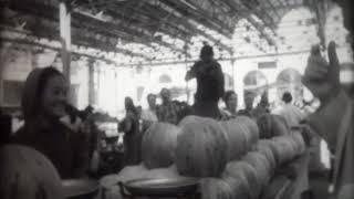 Гости из Дании на Ошском базаре, 1985 год