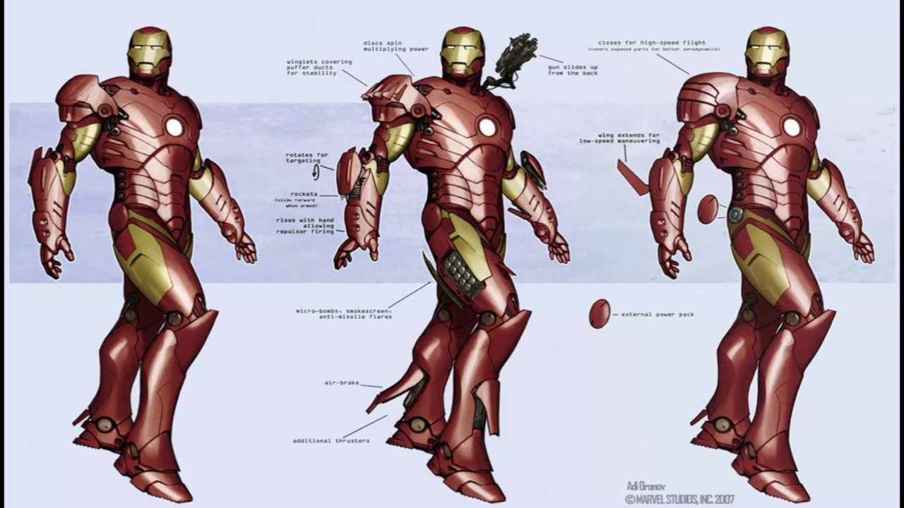 Iron man biography