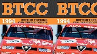BTCC highlights | 1994 | Big Alfa Romeo Crash! Gabrieli Tarquini