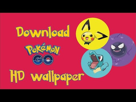 Pokemon Go HD Wallpapers download now !