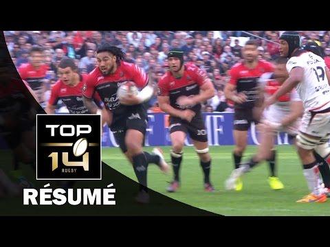 TOP 14 - Résumé Toulon-Toulouse: 33-23 - J23 - Saison 2016/2017
