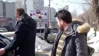 Нападение на Навального в Барнауле