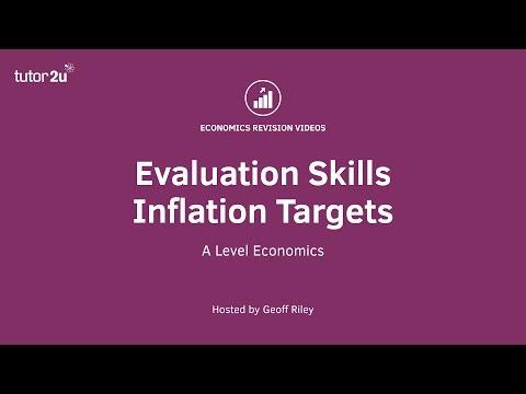 Evaluation Skills - Inflation Targets