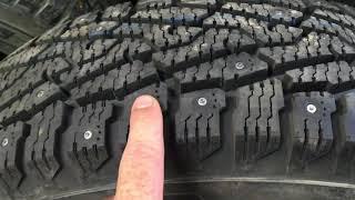 Defender 90 зимние шины Nokian 235х85х16