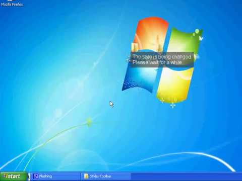 How To Get Windows 7 Theme For XP
