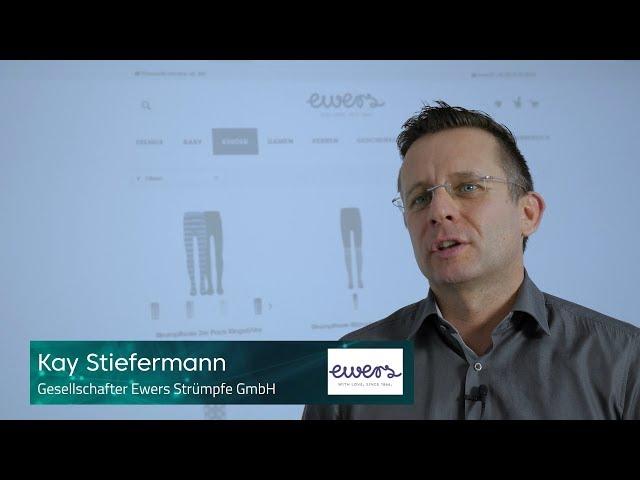 Kay Stiefermann von Ewers Strümpfe GmbH über die Zusammenarbeit mit Performance Medien