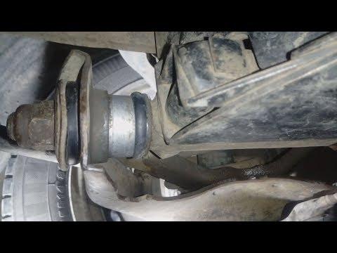 Как заменить сайлентблоки нижнего рычага ВАЗ 2107
