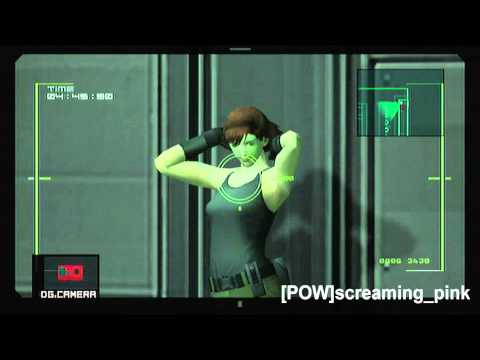 Snake Photograph Mode levels 1-7 MGS 2 HD VR Missions Part 30