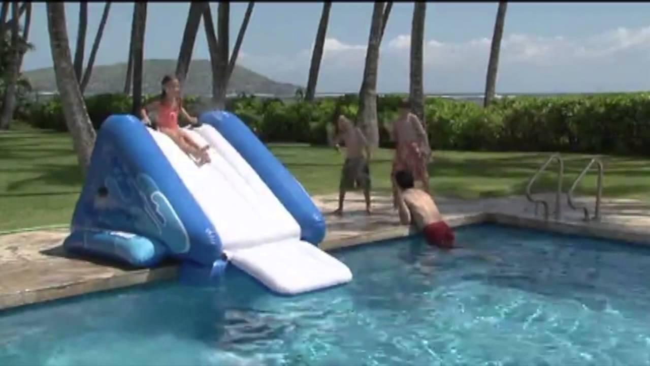 Intex Kool Splash Inflatable Water Slide 58851ep Youtube