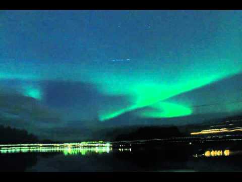 Northern lights,  Falun Sweden 2015 10 07