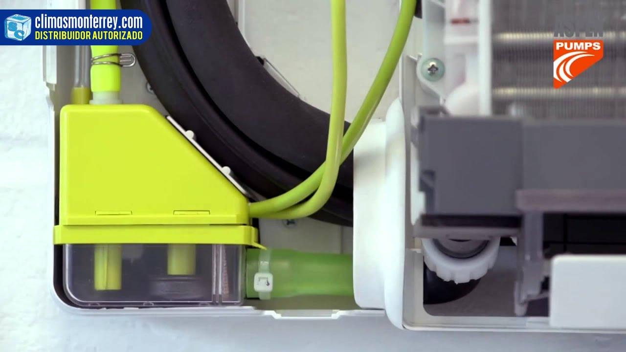 Como instalar una bomba para condensador de aire for Bomba desague aire acondicionado silenciosa
