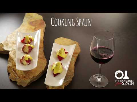 Spanish Tapas Recipe: Manchego Cheese-stuffed Piquillo Peppers With A Saffron Crust