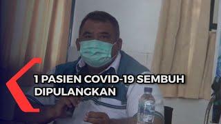 1 Pasien Covid-19 Sembuh Dipulangkan