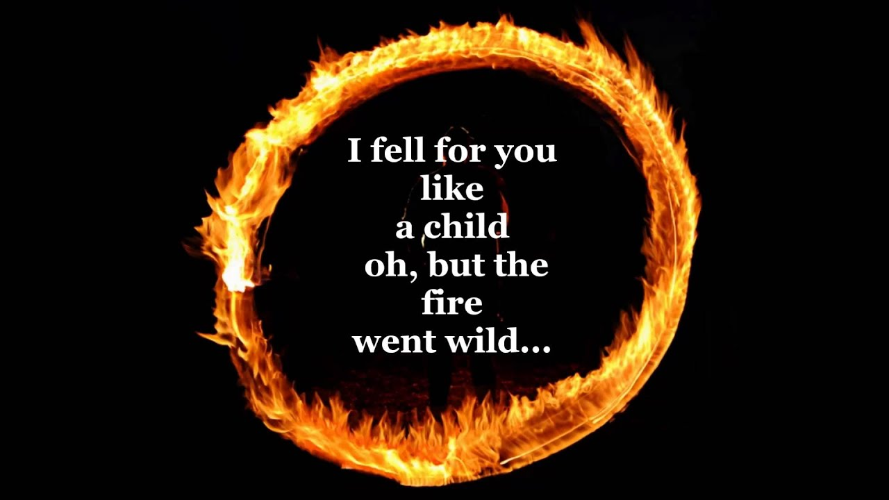 Burning Ring Of Fire The Song