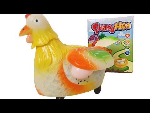 Çılgın Tavuk Yumurtlama Oyunu Oyuncak Dükkanına Dans Eden Yumurtlayan Süper Tavuk Geldi