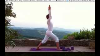 Yoga Übungen. Video # 8: Wach werden mit Power.
