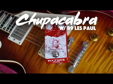 Mythos Pedals Chupacabra Overdrive Demo | Billy Gibbons Tones!