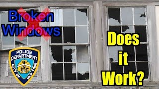 What is Broken Windows policing?