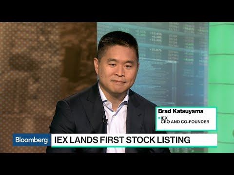 IEX Exchange Helps Level the Playing Field, CEO Katsuyama Says