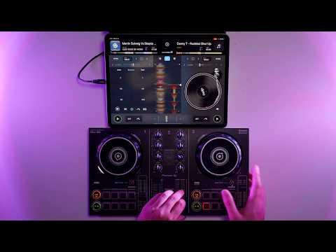 IPad Bass House DJ Mix -  Pioneer DDJ 200 & Algoriddim DJay
