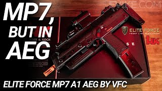 MP7, But in AEG - Elite Force MP7 A1 AEG - 6mm Review